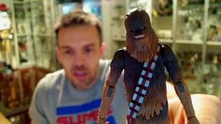 Star Wars Clone Wars Chewbacca HD Action Figure Review   www.flyguy.net