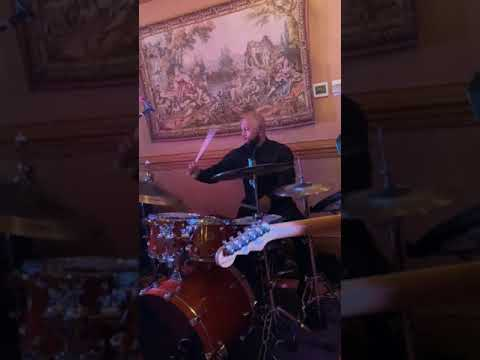 Here's a short video that captures me expressing some ideas in a drum solo when the band gives the drummer some lol The Onyx Band Rocks!