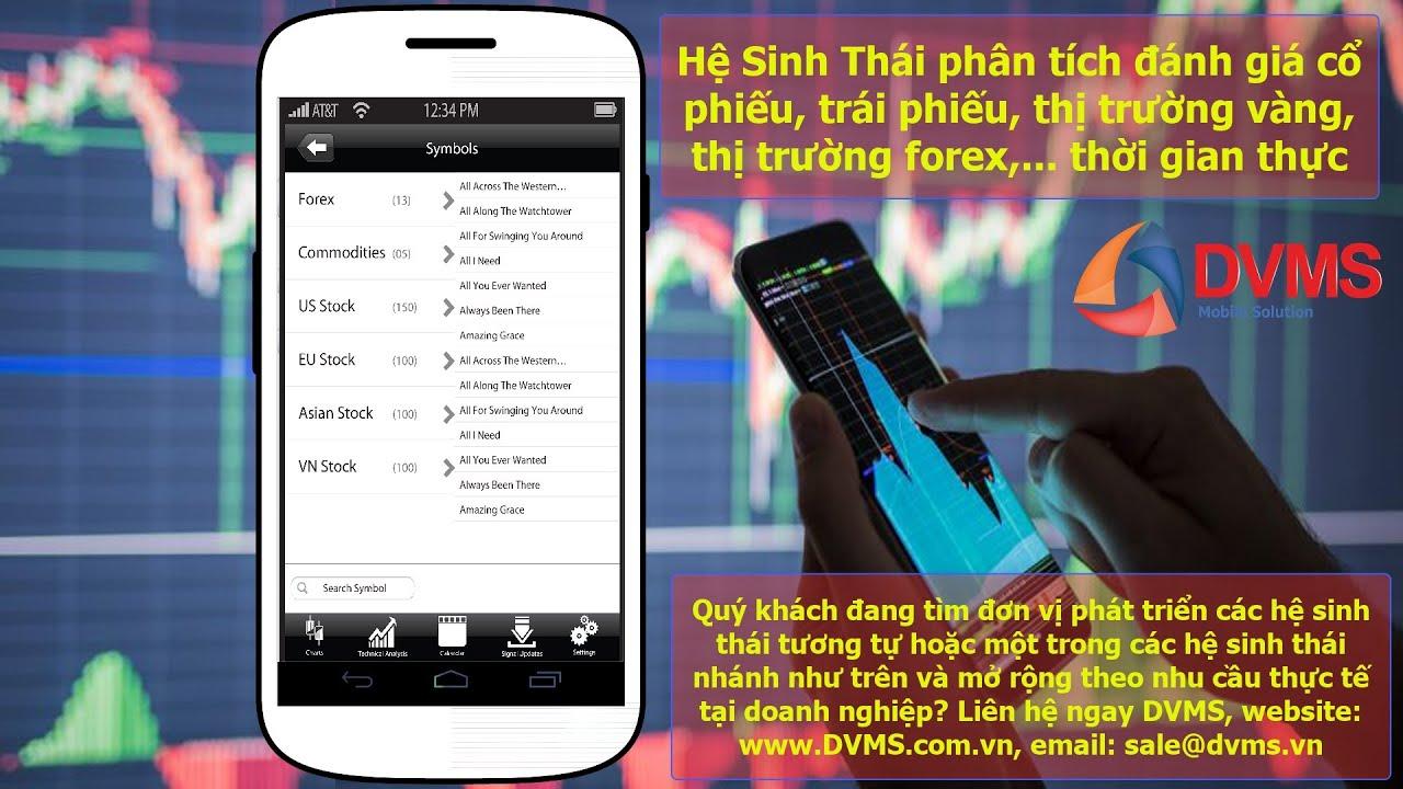 VIP Finance Hệ Sinh Thái phân tích đánh giá cổ phiếu, trái phiếu, thị trường vàng, thị trường forex