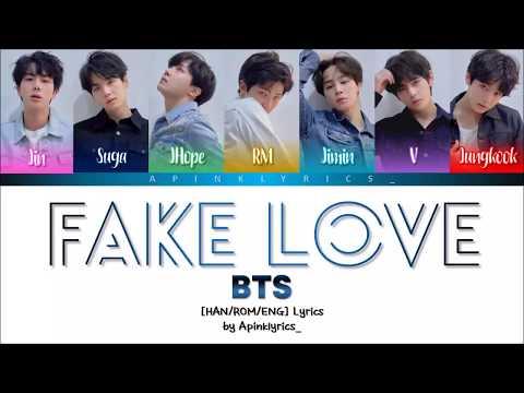 BTS Songs Lyrics - BTS - Fake Love (거짓된 사랑) - Wattpad