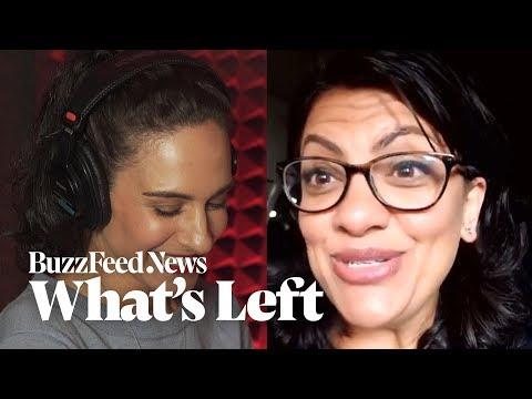 """What's Left?"" Podcast: Rashida Tlaib Talks Democratic Socialism"