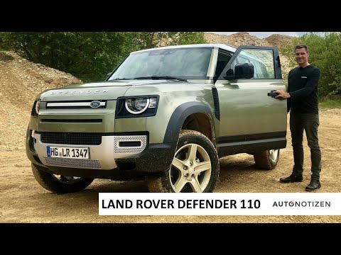 Land Rover Defender 110 2020: Offroad- und Onroad-Review, Test, Fahrbericht
