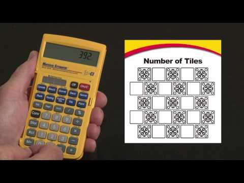Material Estimator - Tile Calculations