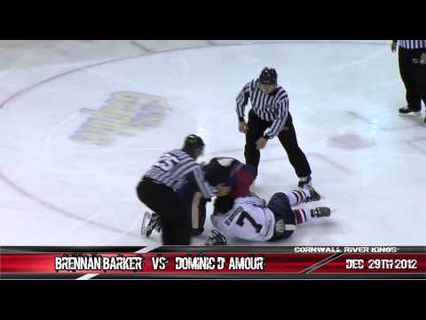 Brennan Barker vs. Dominic D'Amour