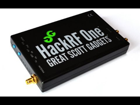 SDR with HackRF One, Lesson 1 - Welcome - 720p - YouTube