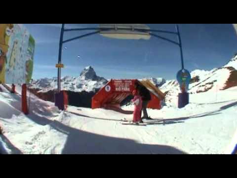 Ski en famille à Artouste