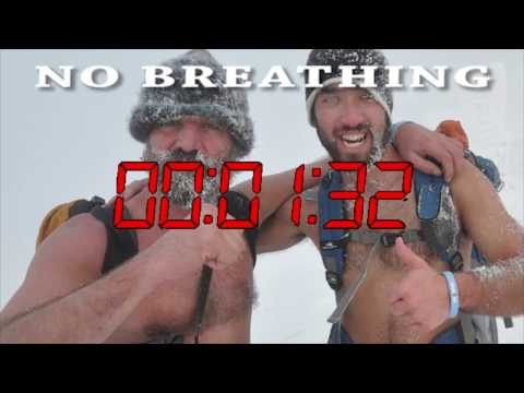 Daily Wim Hof Timed Breathing and Breath Holding Exercise