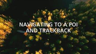 Suunto Traverse: Navigating to a POI and Trackback