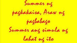 Ang Summer Ang Simula - ABS-CBN Summer Station ID (LYRICS)