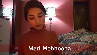 Meri Mehbooba Lyrics | Meri Mehbooba Karaoke | Meri