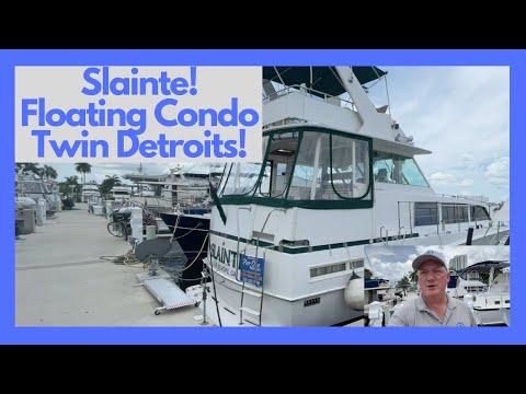 Bertram Motor Yacht video