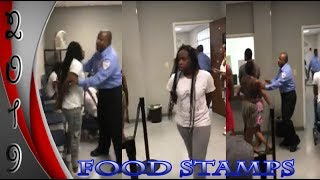 We Got Action at The Food Stamp Office