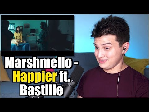 Vocal Coach Reaction to Marshmello ft. Bastille - Happier (видео)