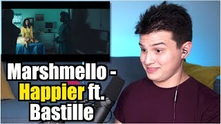 Vocal Coach Reaction To Marshmello Ft. Bastille   Happier
