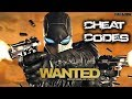 Wanted Weapons Of Fate ps3 xbox 360 pc Cheat Codes
