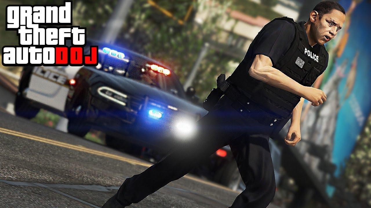 GTA 5 Roleplay - DOJ 49 - Good Cop Bad Cop - YouTube