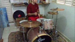 tom petty - the golden rose - drum cover
