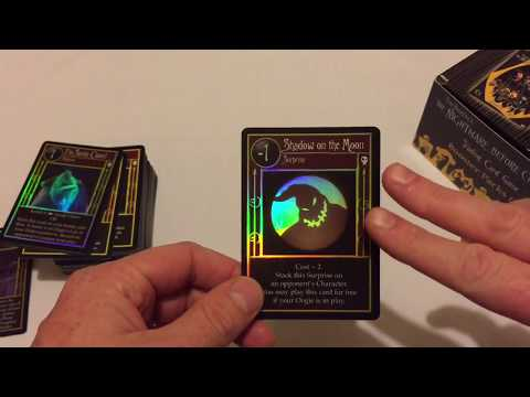 This Is How You Ruin a Fun Time: Tim Burton's NBX Trading Card Game