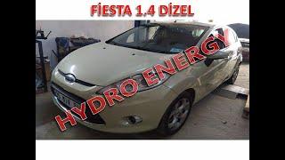 Ford Fiesta hidrojen yakıt sistem montajı