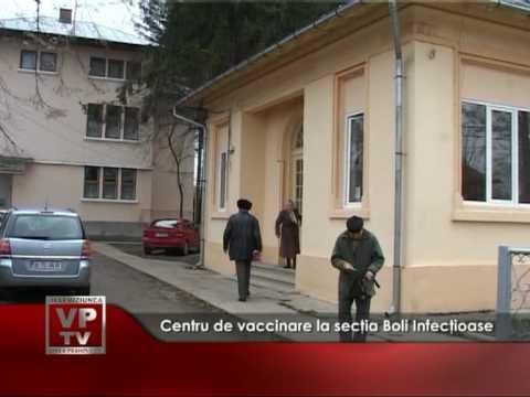 Centru de vaccinare la secţia Boli Infecţioase