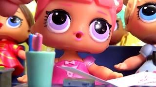 Куклы ЛОЛ LOL Surprise мультик ДОМАШНЕЕ ЗАДАНИЕ #Игрушки видео для детей | Вероничка Лалалупси