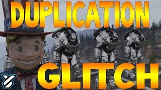 FIRST EVER Power Armour Duplication Glitch - FALLOUT 76