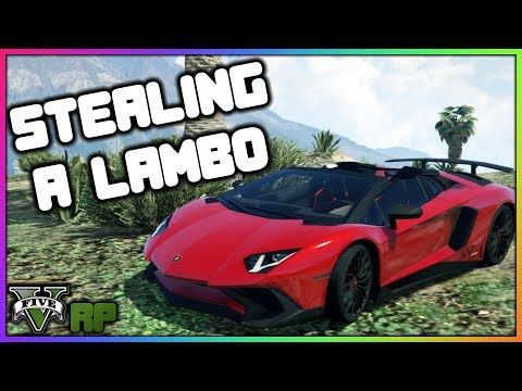 GTA 5 Roleplay - Stealing A Lamborghini From Redline | RedlineRP #16