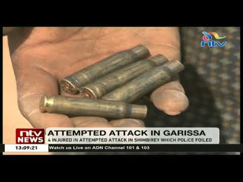 4 injured in an attempted attack on a Chinese road construction site in Garissa
