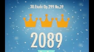 Piano Tiles 2 Etude Op 299 No 39 Czerny High Score 2089 Piano Tiles 2 Song 30