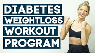 Diabetes Exercises For Weight Loss Workout Program To Control Diabetes (All Levels)
