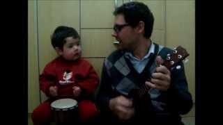 Hey Jude - The Beatles, por Diogo Mello (2 anos e 2 meses)