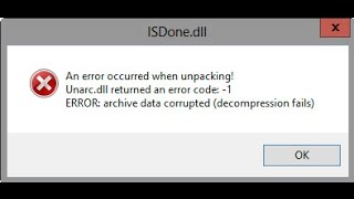 How To Fix ISDone.dll Error During Game Installations For All Big Games[HD]