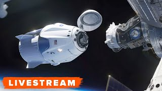 See NASA astronauts Doug Hurley and Bob Behnken go through docking and hatch opening at the International Space Station (ISS).