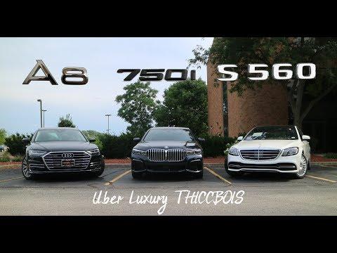 WHEEL 2 WHEEL | 2020 BMW 7 Series vs Mercedes S Class vs Audi A8