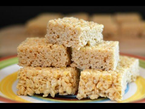 Rice Krispies Treats Recipe   How To Make Rice Krispies Treats   SyS