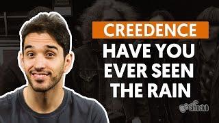Have You Ever Seen The Rain - Creedence (aula de violão completa)