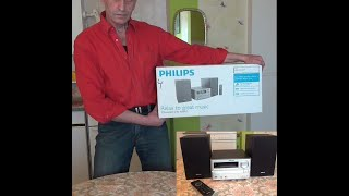 Functional test  Philips MCM2000/12 Stereo Hi-Fi System