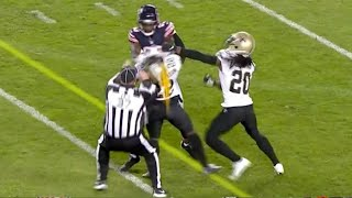 Bears vs Saints Fight FULL SEQUENCE (EJECTION) | NFL Game Highlights