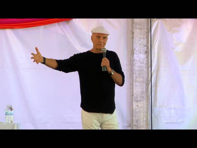 "Mastering the Art of Manifesting"" Wayne Dyer at Wanderlust's Speakeasy"