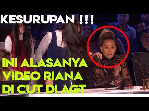 The Sacred Riana GAGAL! Penonton teriak, KESURUPAN? Video AGT di cut. Penjelasanya !!! (видео)
