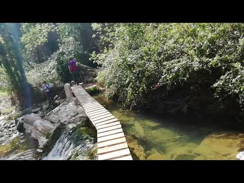 El Río Gaia a su paso por el Pueblo de Querol 3