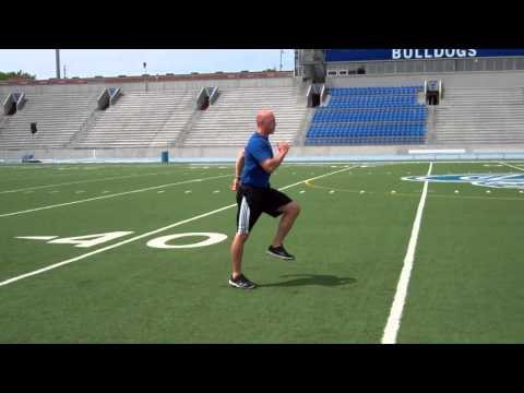 Exercise thumbnail image for High Knee Skip