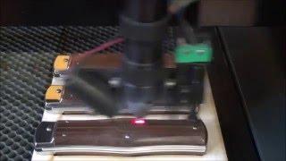 CO<sub>2</sub> laser NUMCO C 1290 - popis střenky nože