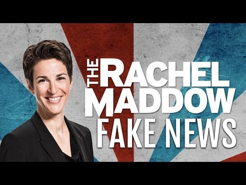 FAKE NEWS ALERT: Rachel Maddow on Trump Tax Returns