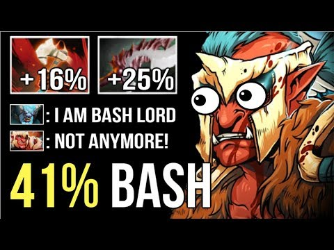 WTF FOREVER BASH 7.20 Troll New Ensnare Stack Basher 41% Disable Can't Move by vanN Imba Dota 2