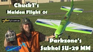 Parkzone Sukhoi SU 29MM The Maiden with ChuckT
