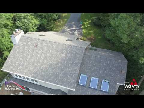 Crofton, MD Home with Wasco E-Class Skylights