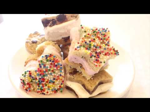 How to: Mini Ice Cream Sandwiches