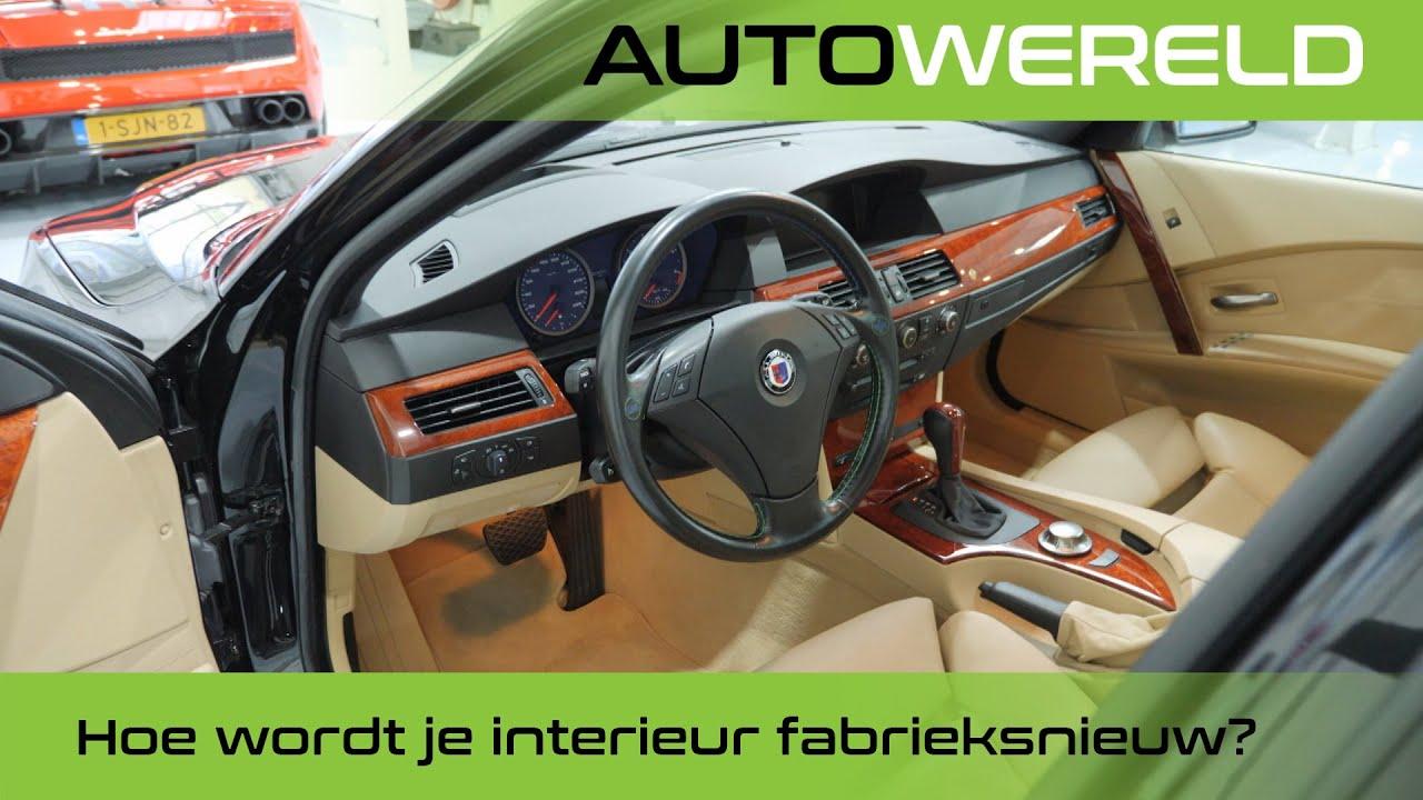 Hoe krijg én houd je het interieur van je auto fabrieksnieuw? | Stipt Polish Point