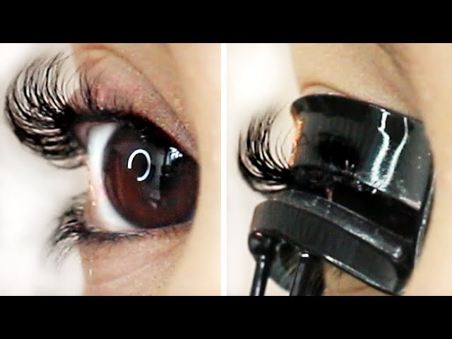 Keeping Your Eyelashes Curled All Mascara Routine For Straight